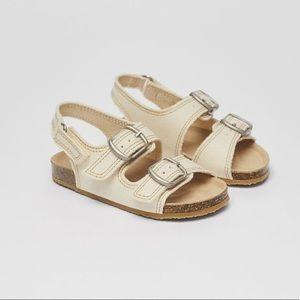 • Zara • Rustic Sandals